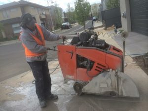 Road Sawing Crossover Slurry
